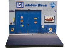Diorama présentoir NSU - Autodienst Tillmann - 1/43ème - #43-2-A-A-032