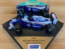 HERITAGE FORMULA 1 WILLIAMS RENAULT FW16 FRENCH GRAND PRIX
