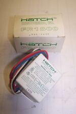 NEW HATCH TRANSFORMERS 120VAC ELECTRONIC FLUORESCENT LAMP BALLAST FR-1800