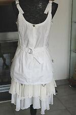 PLEIN SUD Gorgeous White Dress  Size US 8 / IT 42