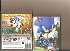SONIC THE HEDGEHOG PLAYSTATION 3 PS3 PS 3