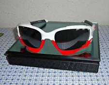 OAKLEY MEN'S RACING JACKET 009171-16 WHITE/ BLACK IRID SUNGLASSES