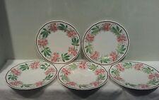 A Set of Five Wedgwood WH3733 Salad Plates