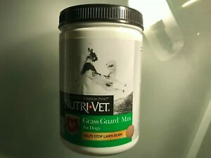 NUTRI VET GRASS GUARD MAX FOR DOGS 365 COUNT NEW AND SEALED