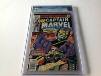 CAPTAIN MARVEL 56 CGC 9.8 WHITE PGS YELLOWJACKET DEATHGRIP KANE MARVEL COMICS