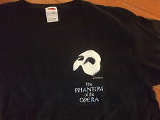PHANTOM OF THE OPERA vintage rare design official t- shirt Adult Large Broadway