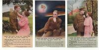 Great Britain 3 x unused WW1 patriotic postcards (Bamforth and Co)