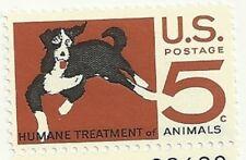 1966 Humane Treatment of Animals 5 cents US Postage Stamp Scott #1307  MINT