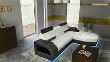 Corner Sofa Couch Pads Interior design Leather Set L-shaped MadagL
