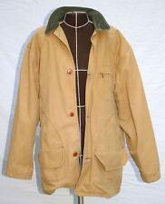 Classic L.L. BEAN Cotton Canvas Twill Field Jacket. Flannel Lining Mens Tall