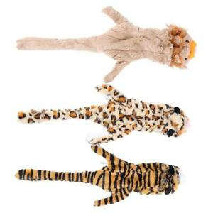 1 Pc Dog Toys Durable Squeaky Flat Stuffingless Skinny Interactive Toys Cats LS3