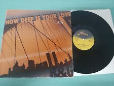 "B&G HOW DEEP IS YOUR LOVE MELODY 1992 CLUB MIX REMIX - MAXI LP VINILO 12"" VG/VG"