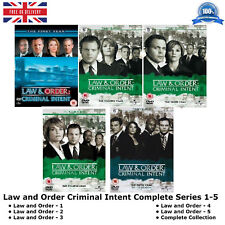 Law & Order - Criminal Intent Series 1-5 Complete Season 1 2 3 4 5 New UK R2 DVD