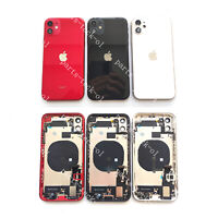 New For iPhone 11 Pro Max Back Housing Battery Cover Frame Assembly Small Parts
