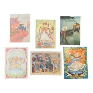 Leanin' Tree Unused Variety Pack GET WELL Cards & Envelopes (set 1)