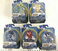 Sonic The Hedgehog Knuckles Tails Metal Chao 2.5� Mini Figure Lot of 5