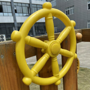 Amusement Park Game Children Pirate Ships Wheel Jungle Gym Outdoor Fun Kids Toy