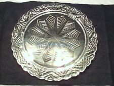 Clear Glass Crystal Platter