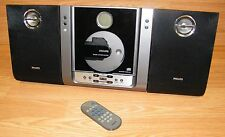 Philips (MC235B) Micro System AM / FM Radio / CD Player With Wired Speakers