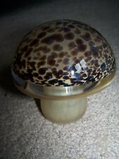 Vintage Wedgwood Toadstool-Tortoishell Glass Paperweight 1970's