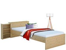 Funktionsbett Bett Kinderbett 90x200 cm Einzelbett Bettgestell Kiefer massiv