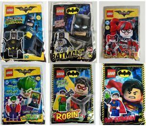 ORIGINAL LEGO - THE BATMAN MOVIE - DC Foil Pack POLYBAG - Limited Edition