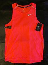 NEW Nike Elite Pro Dri-Fit Running Breathe Tank Small Reflective Singlet