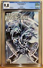 SECRET AVENGERS #7 CGC 9.8 - WHITE *MOON KNIGHT TRON VARIANT COVER*
