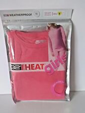 GIRLS 32 DEGREES HEAT LONG SLEEVE CREW TOP AND  LEGGINGS SMALL 6 6X DEEP PINK