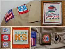 Custom Design Boy Scout Shoulder Loops Uniform Epaulets Set Pair Bsa Masonic
