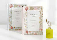 Miss Rococo Diary Notebook Classic Hard Cover Journal Planner Note Book Pad #B28