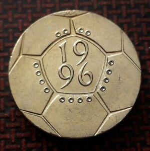 1996 £2 Euro 96 Football coin