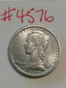 🇵🇲🇵🇲🇵🇲 1948 Saint-Pierre and Miquelon 1 Franc Coin 🇵🇲🇵🇲🇵🇲