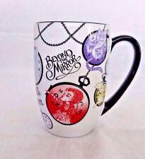 Disney Store Alice in Wonderland Cheshire Cat Mad Hatter Rabbit Coffee Mug Cup