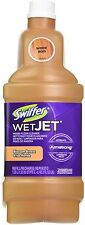 Swiffer WetJet Wood Floor Cleaner Refill, Blossom Breeze 42.20 oz (Pack of 3)