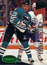 "1993-94  PARKHURST  ""EMERALD ICE""   #257  MICHAL SYKORA"