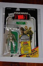 C-3PO Removable Droid-Loose-Star Wars Return of the Jedi-Vintage-65 Back Card