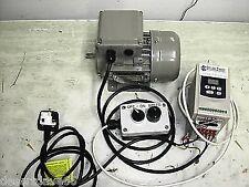 Moteur de 3/4 HP & 1HP Digital Inverter Paquet + Remote Pod Pour Myford Boxford Lathe
