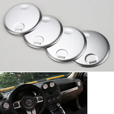4x Dashboard Console AC Air Vent Outlet Cover Trim for 2010-16 Compass Patriot