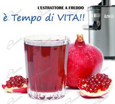 Estrattore di Succo Polpa di Frutta e Verdura Bassa Velocità AZTECH