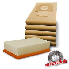 Filter + 5x Beutel Kärcher NT 35/1 45/1 55/1 361 Tact Te Eco Ap M  6.904-367