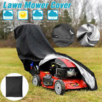 Lawn Mower Cover 210D Waterproof Weather UV Protector for Push Mowers Universal