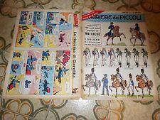 CORRIERE DEI PICCOLI N 24 1965 INSERTO  LA  GRECIA  SOLDATINI  WATERLOO