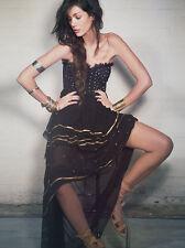 NEW Free People Limited Edition Moonlight Dancer Embellished Tube Dress Sz 4