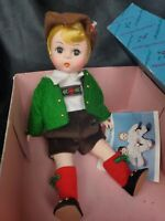 Madame Alexander Doll Austria Boy 599 With Box