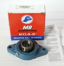 "MB Mfg NYLA-K 1 3/16"" Mounted Ball Bearing FC2251-316 30mm NEW IN BOX"