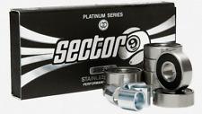 Sector 9 Platinum Series ABEC 9 Stainless Steel Performance Skateboard Bearings