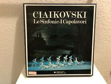 Ciaikovski Le Sinfonie•I Capolavori. (9 Lp Collection)