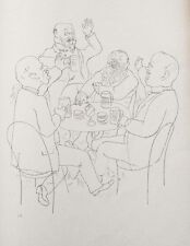 Lithography original - George Grosz - Ecce Homo - Oalte - 1923