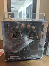 """Aliens Corporal Hicks & Private Hudson Neca two pack 7"""" figures Signed by Biehn"""